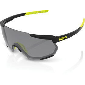 100% Racetrap Gafas, gloss black/smoke